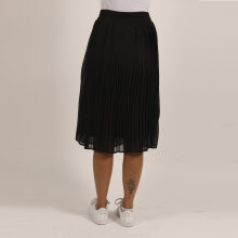 Pieces - Pcrose solid midi skirt