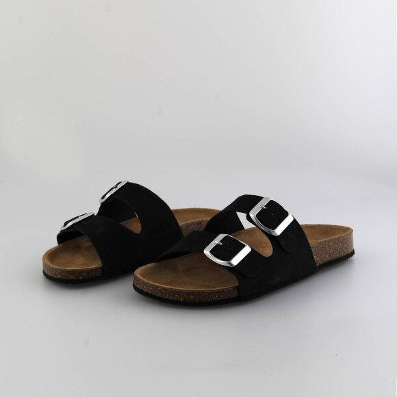 pcliina suede sandal fra pieces