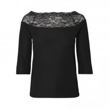 Pieces - Pcsia 3/4 lace top