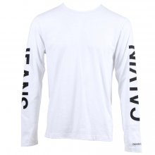 Calvin Klein - Institutional back print ls re