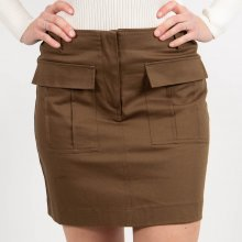 Pieces - Pccecilie mw short skirt