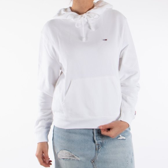 Tjw tommy classics hoodie fra tommy jeans på kingsqueens.dk