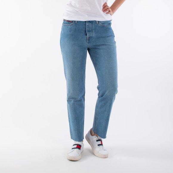 tommy jeans – High rise slim izzy tjlbri fra kingsqueens.dk
