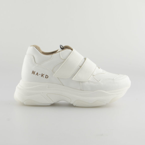 na-kd – Chunky sneakers velcro fra kingsqueens.dk