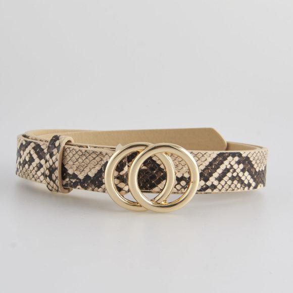 Pckarren snake jeans belt d2d fra pieces fra kingsqueens.dk