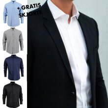 Black rebel - Basic suit blazer + free shirt