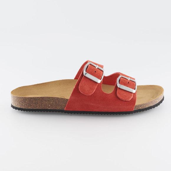 pieces Psliina suede sandal fra kingsqueens.dk