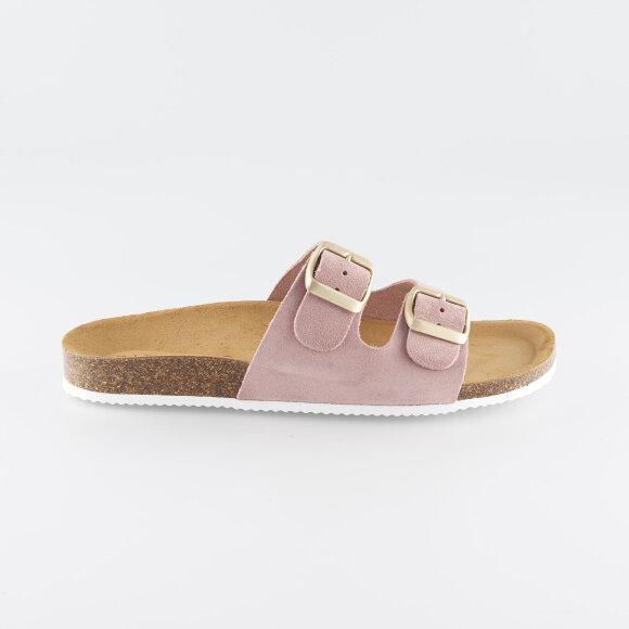 pieces Psliina suede sandal på kingsqueens.dk