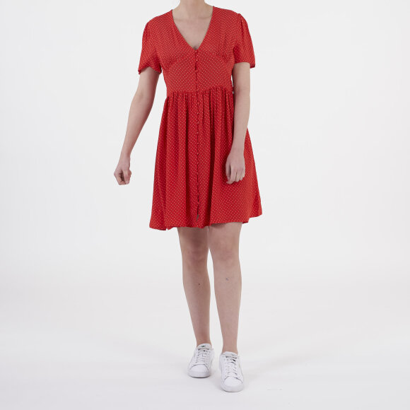 object Objlemon s/s short dress fra kingsqueens.dk