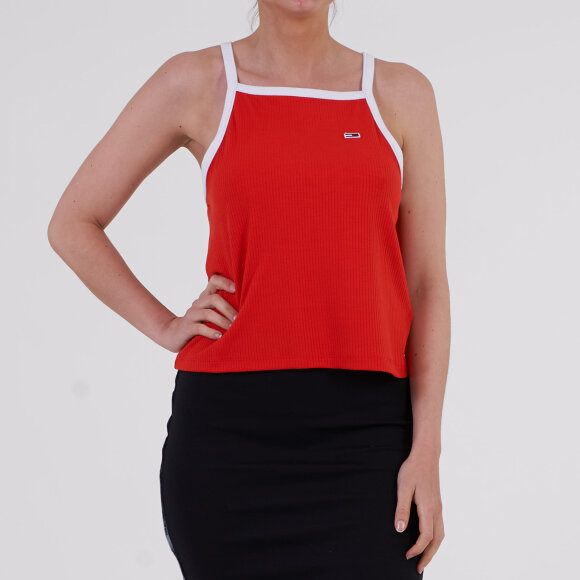 Image of   Tjw racer neck top