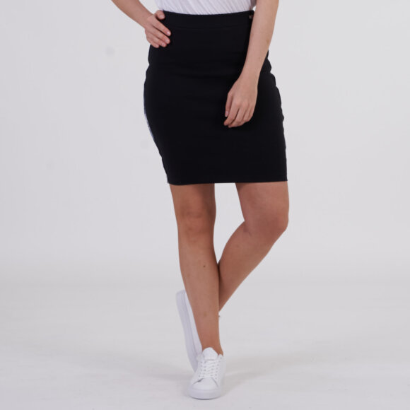 Image of   Tjw piping bodycon skirt