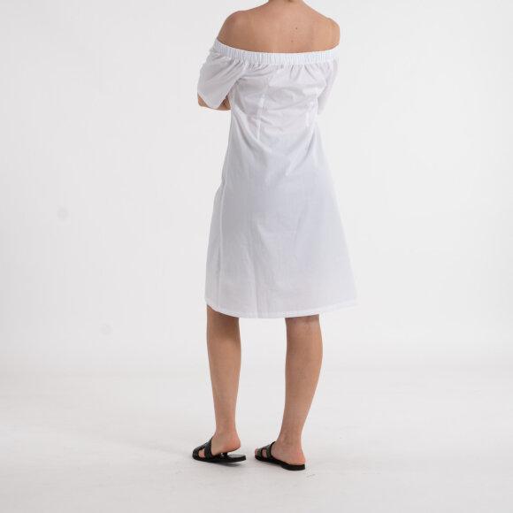 NA-KD - Bardot button up midi dress