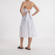 NA-KD - Tie back broiderie angla dress