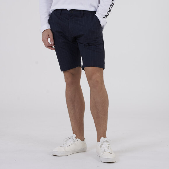 Image of   Jason Chino Pinstripe Shorts