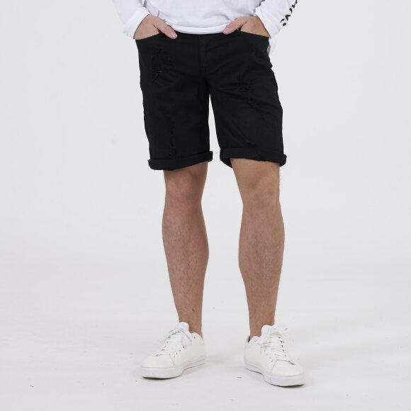 Image of   Revolver shorts black destroy