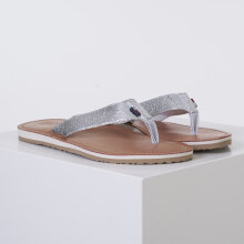 Tommy Hilfiger Shoes - TF silver sandal