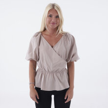 NA-KD - V neck wrap over elastic waist
