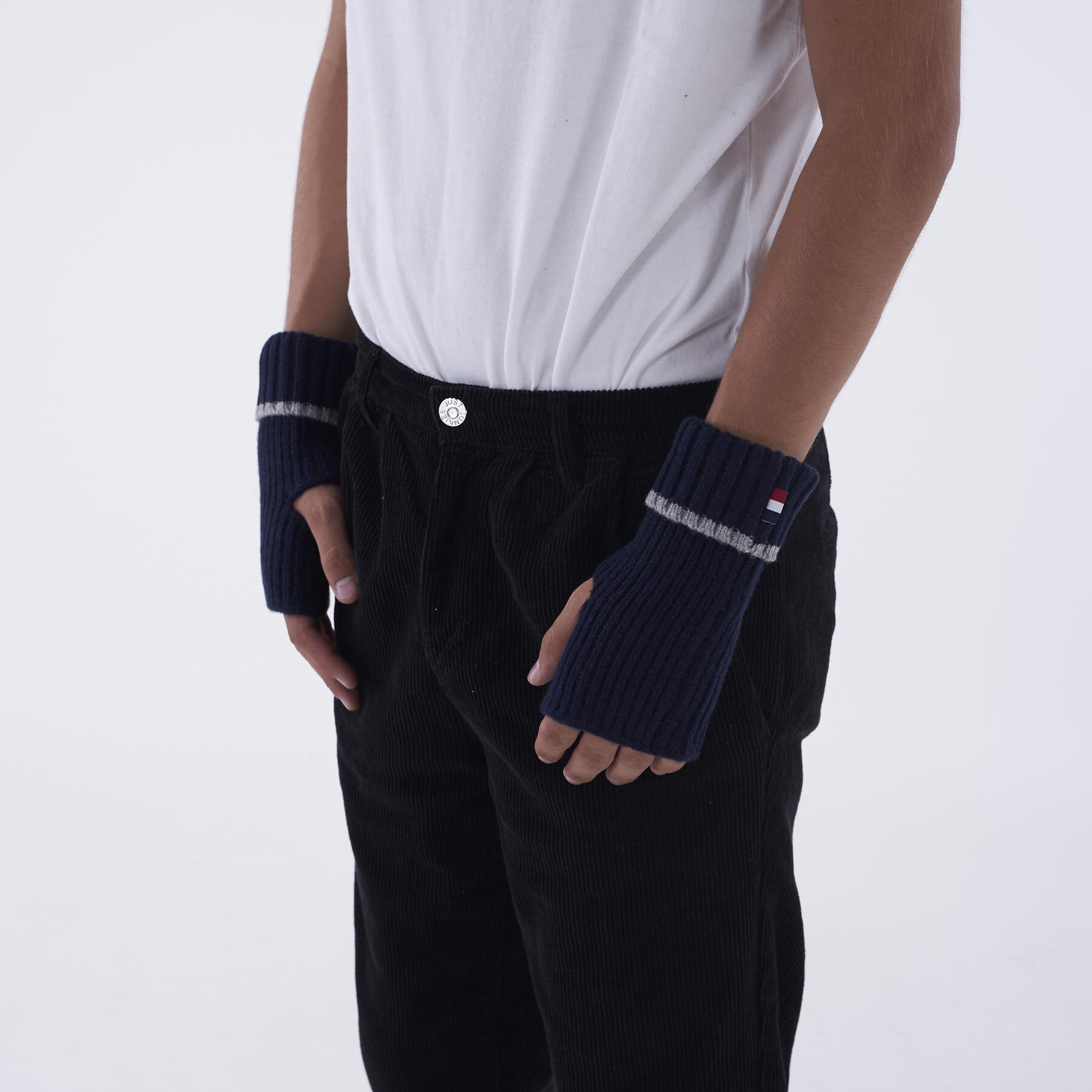Les Deux - Rieba gloves - Accessories til herre - Navy - O/S