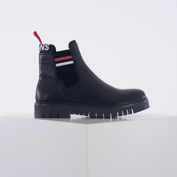 tommy hilfiger shoes – Padded tongue tommy chelsa på kingsqueens.dk