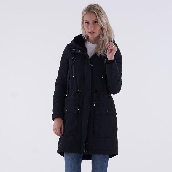 y.a.s – Yascalvein parka coat på kingsqueens.dk