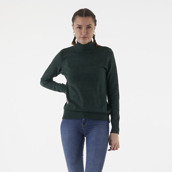 vila Viril l/s turtleneck knit top på kingsqueens.dk