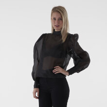 NA-KD - Volume sleeve organza blouse