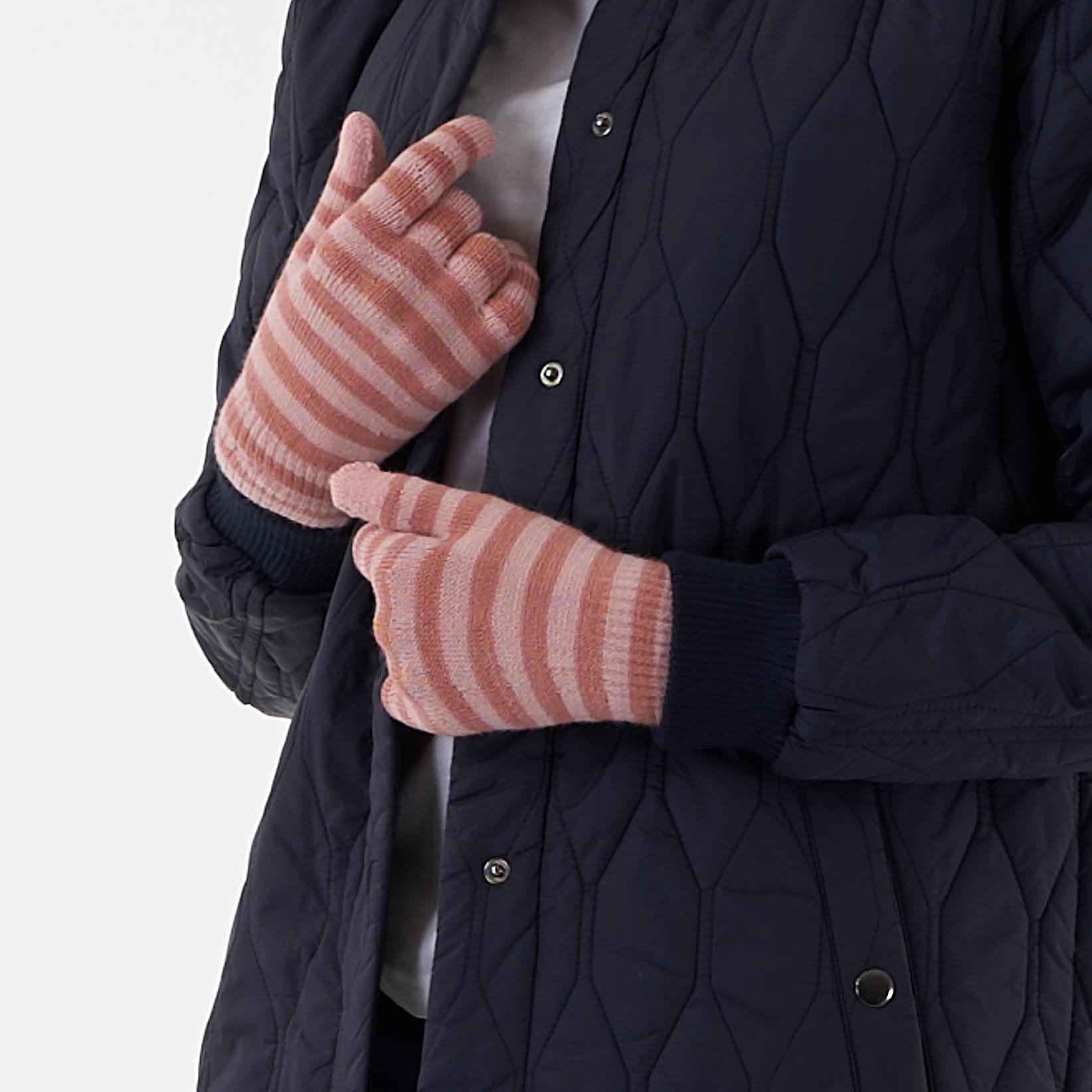 Pieces - Pcnew buddy stripe glove - Accessories til hende - PEACH SKIN - O/S