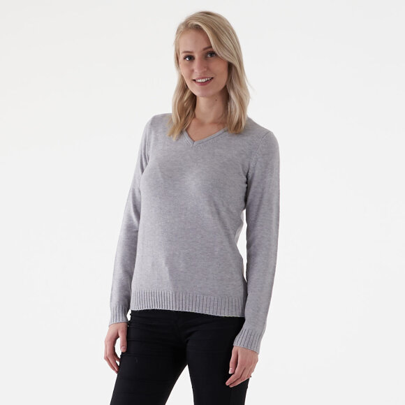 Image of   Viril l/s v-neck knit top