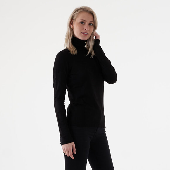 Image of   Vibolonia knit ls rollneck top