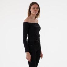 Calvin Klein - Bardot institutional ls tee