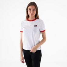 Tommy Jeans - Tjw badge ringer tee