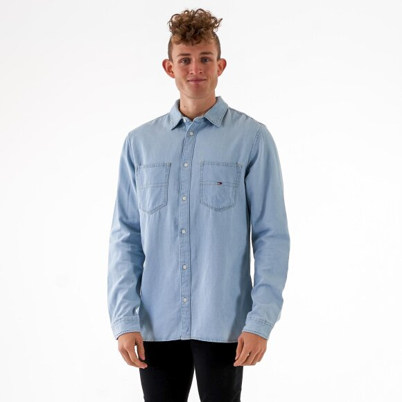 Image of   Tjm denim pocket shirt