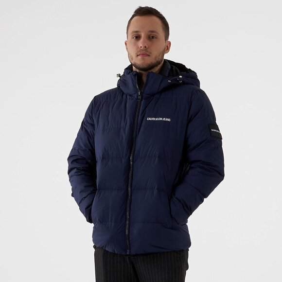 Image of   Hooded down puffer jacket