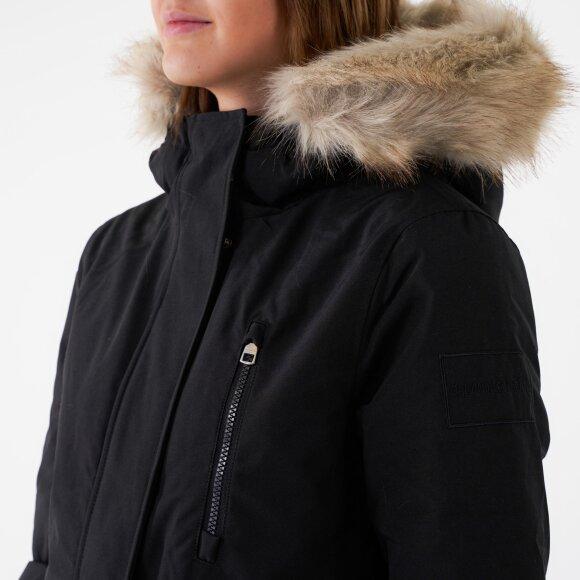 Calvin Klein - Mw down short nylon jacket