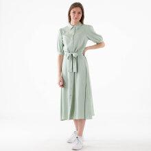 NA-KD - Puff sleeve belted midi dress