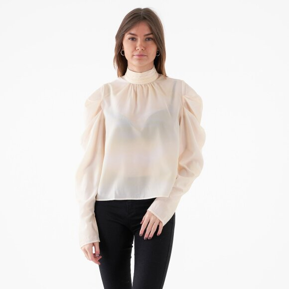 Image of   Draped sleeve blouse