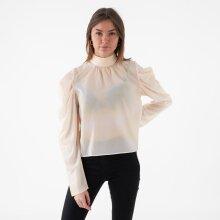 NA-KD - Draped sleeve blouse