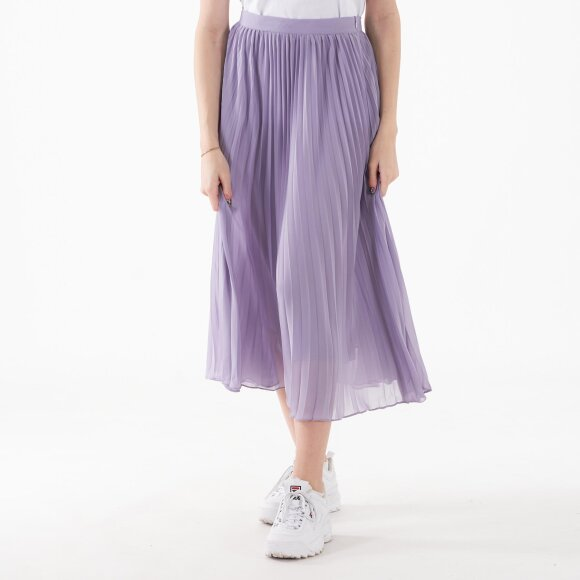 Image of   Ankle length pleated skirt