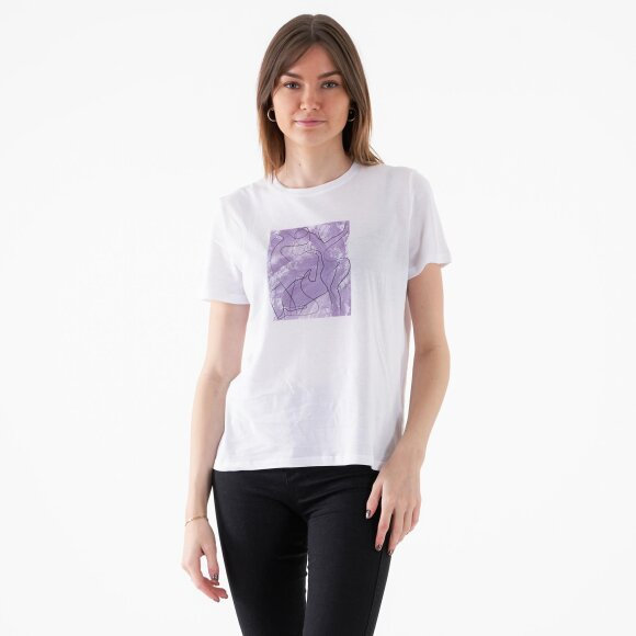 Image of   Art printed basic tee