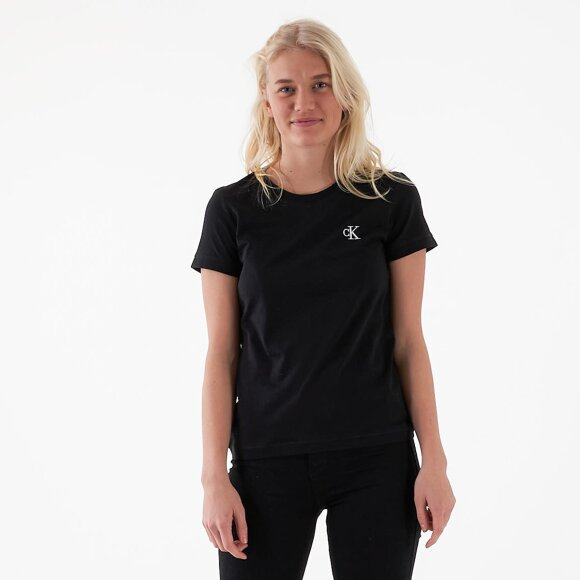Image of   CK embroidery slim tee