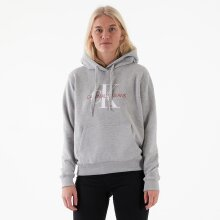 Calvin Klein - Monogram relaxed short hoodie