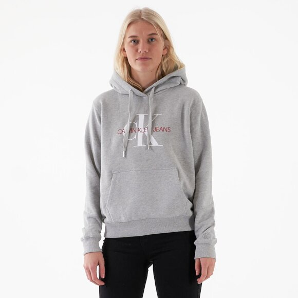 Image of   Monogram relaxed short hoodie