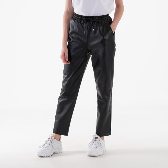 Image of   Drawstring pu pants