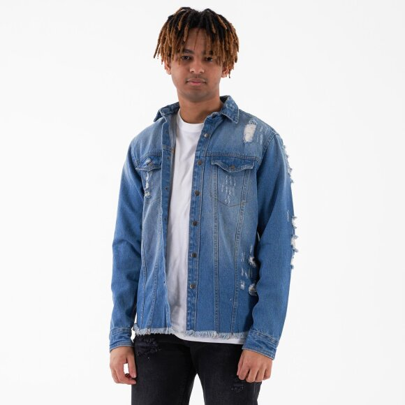 rebel Jackson denim jacket på kingsqueens.dk