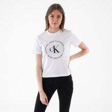 Calvin Klein - Ck round logo straight tee