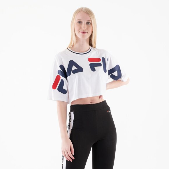 Image of   Barr cropped wide tee