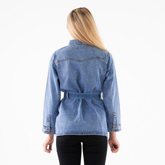 Pieces - Pcnamir ls denim jacket