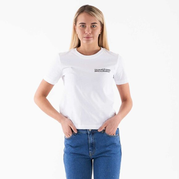Image of   Square graphic straight tee