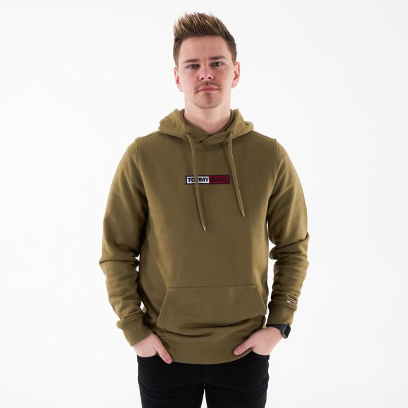 Image of   Tjm embroidered box hoodie