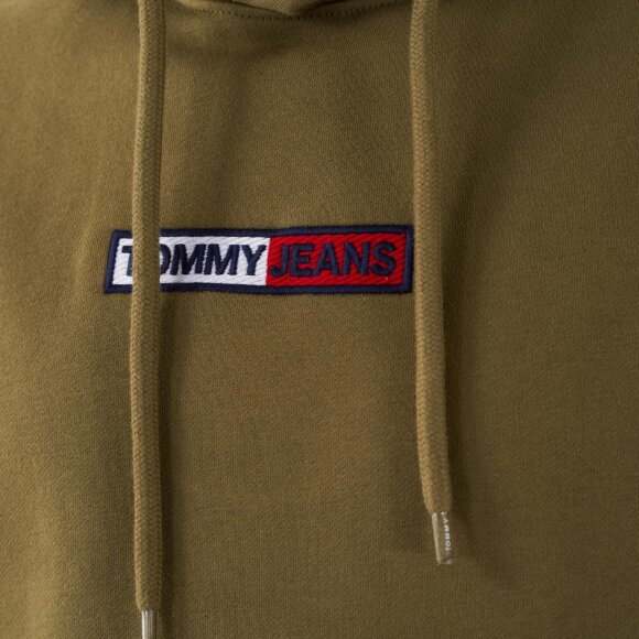 Tommy Jeans - Tjm embroidered box hoodie
